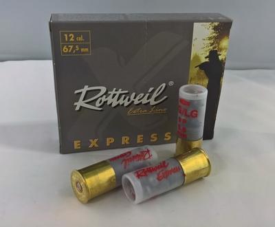 Rottweil Express 12/67,5 8,6 mm (10 kpl rasia)