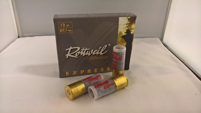 Rottweil Express Buck Shot 47P 5,00mm #AA (10kpl rasia) 12/67,5