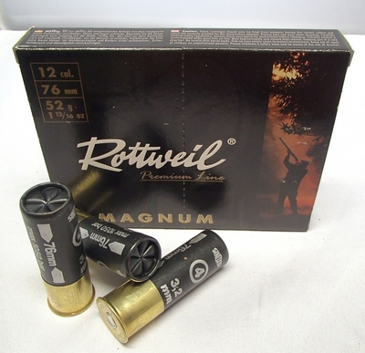 Rottweil Magnum 52g (10kpl rasia) 12/76