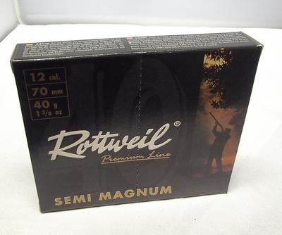 Rottweil Semi Magnum 40g (10kpl rasia) 12/70