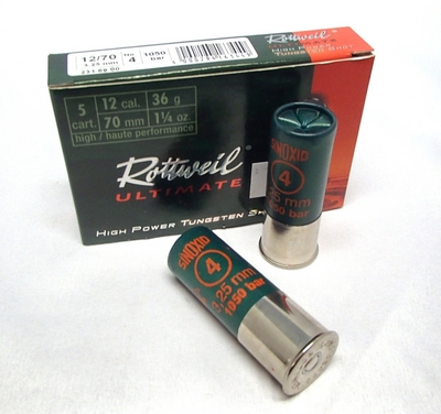 Rottweil Ultimate Tungsten 36g 3,25mm #4 (5kpl rasia) 12/70