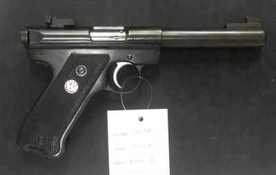 Ruger Mark 2 Target, cal 22 LR, TT=3
