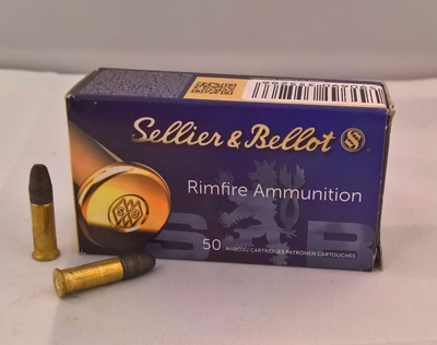S&B Rimfire ammunition SB Standard .22 LR / 40grs / 2.56g
