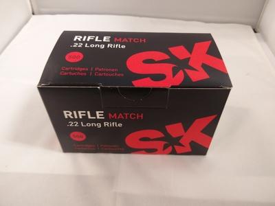 SK Schönebeck Rifle Match .22 LR, 50 kpl rasia