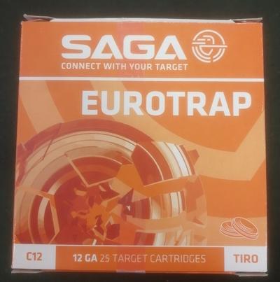 Saga Eurotrap 12/70 no. 7,5, 2,37 mm (25 kpl rasia)