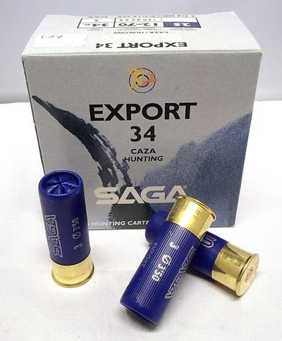 Saga Export 34g (25kpl rasia) 12/70