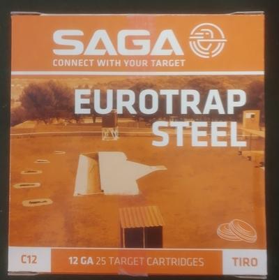 Saga Steel Skeet 9  24g  2,00 mm (250 kpl rasia) 12/70