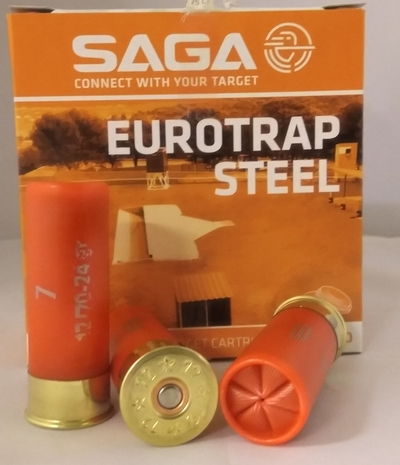 Saga Steel Trap 2,50 mm 7 24g (25 kpl rasia) 12/70
