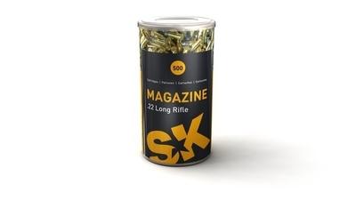 Schönebeck Magazine LRN 2,6g / 40gr (500kpl rasia) .22 LR