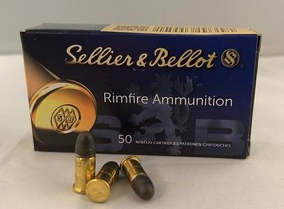 Sellier & Bellot .22LR Short 1,80 g / 28gr (50kpl rasia) .22 LR