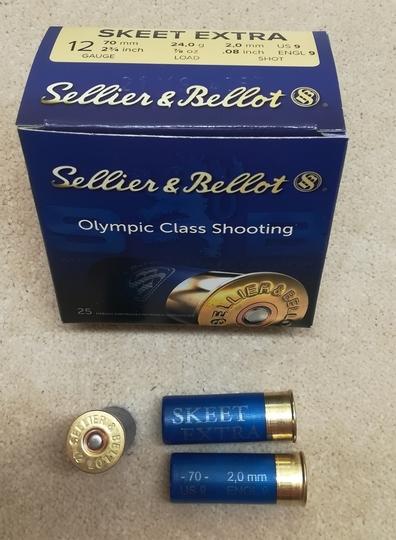 Sellier & Bellot Skeet Extra 24g 2,00 mm 250 kpl rasia)