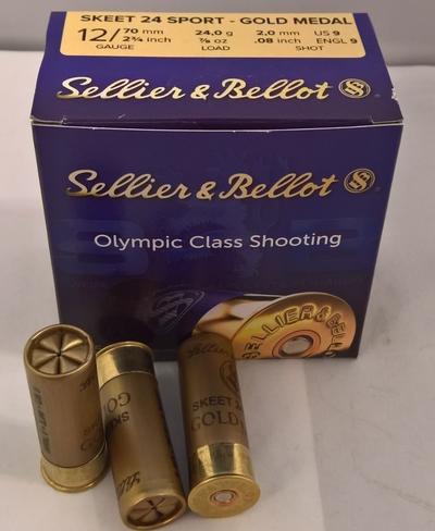Sellier & Bellot Skeet Sport 24 Gold Medal (250 kpl laatikko)