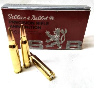 Sellier&Bellot HPBT 5,0 g/77 gr (20kpl rasia) .222 REM