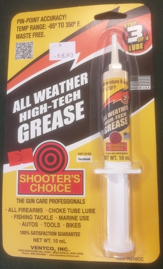 Shooter's Choice All Weather grease