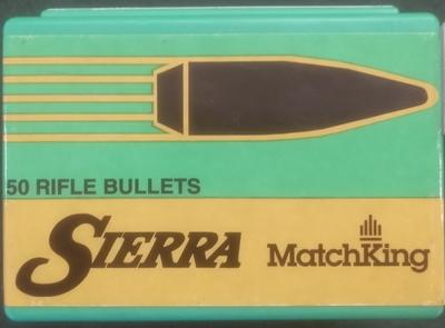 Sierra Matchking 30 cal .308 155gr 100kpl