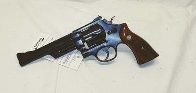"Smith & Wesson Highway Patrolman, Cal .357 , 6"",TT=2"