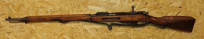 Sotilaskivääri Tula, M91, cal 7,63x53R