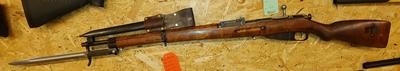 Sotilaskivääri VKT, M39 -42, cal 7,62x53R, TT=2