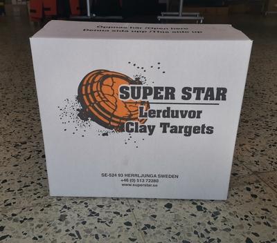 Super Star Standard Orange savikiekko