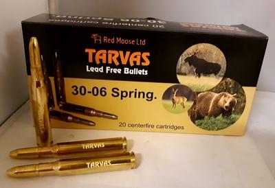 Tarvas 30-06 Spring. 10,7g 165gr BT 20kpl