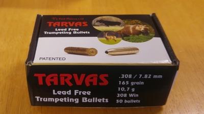 Tarvas Lead Free .308/ 7.82 165gr/ 10,7g 308 Win 50kpl