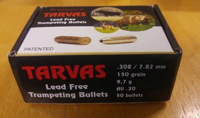Tarvas Lead Free .308/7,82mm 150gr/9,7g All.30 50kpl