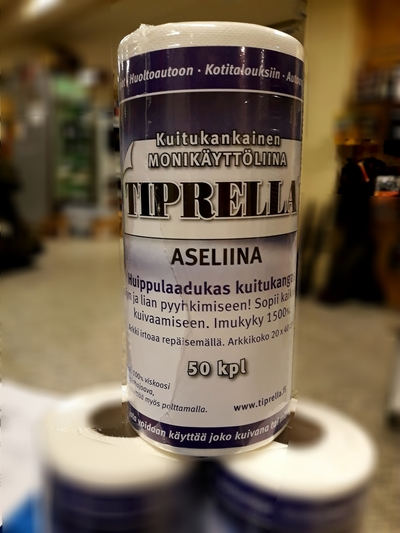 Tiprella aseliina 20x40 50kpl