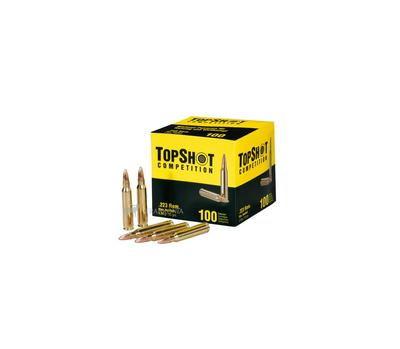 TopShot 223 Rem FMJ 3,6 g/55 gr (100 kpl laatikko)