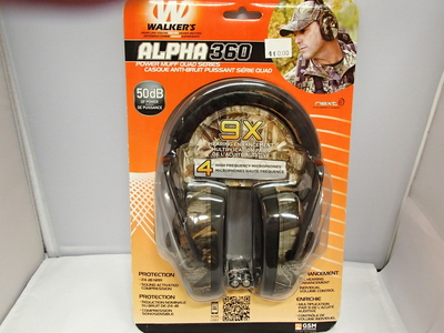 Walker's alpha 360 kuulosuojaimet
