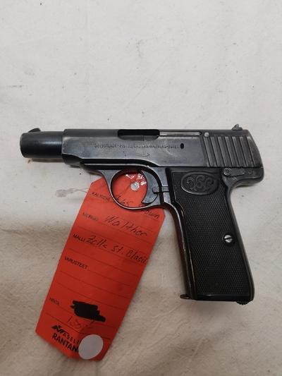 Walther Zella St.Blasil, cal 7,65, TT=3