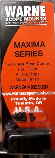 Warne scope mounts Maxima Series M932/932M