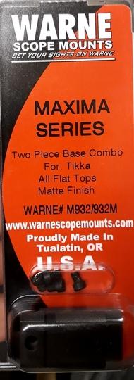 Warne scope mounts Maxima Series