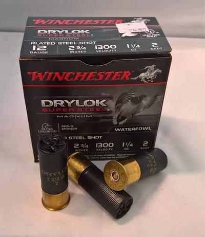 Winchester Drylock Super Steel Magnum 12/70 3,5 mm #2 (25kpl rasia)