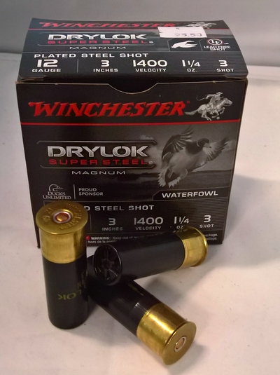 Winchester Drylock Super Steel Magnum 12/76 3,3 mm #3 (25kpl rasia)