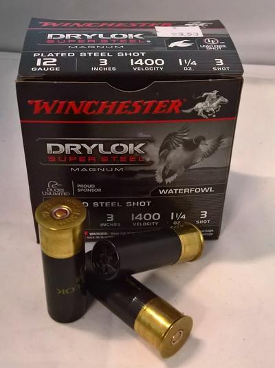 Winchester Drylock Super Steel Magnum 12/76 3,6 mm #3 (25kpl rasia)