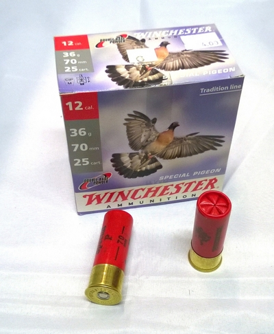 Winchester Special Pigeon 36g 2,7mm #6 (25kpl rasia) 12/70