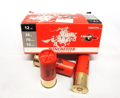 Winchester Super Speed 36g 3,7mm #1 (10kpl rasia) 12/70