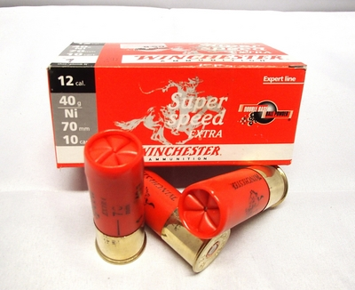 Winchester Super Speed Extra 40g 3,7mm #1 (10kpl rasia) 12/70