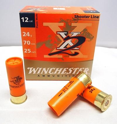 Winchester X2 Skeet 24g (25kpl rasia) 12/70
