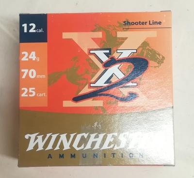 Winchester X2 Skeet 24g 9 (250kpl rasia) 12/70