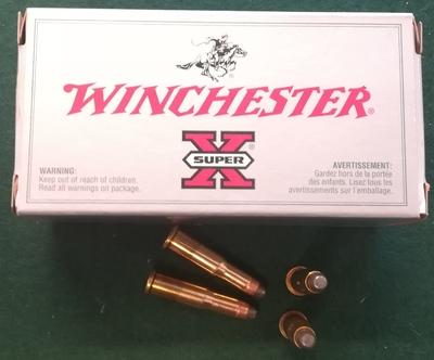 Winchester superx 25-20win 86gr sp 50ptr