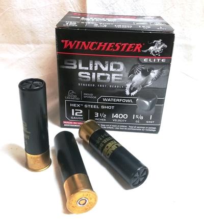 Winschester Steel Blind Side, cal 12/89, 46g 3,7mm/4,4mm (25 kpl)