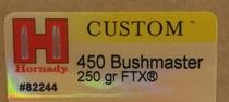 Hornady 450 Bushmaster 250gr FTX 20kpl