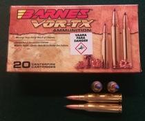 Barnes Vor-Tx 260REM 120gr 20kpl