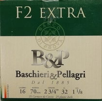 Bashieri & PellagriF2 32 g 2,90 mm 16/70 (25 kpl rasia)