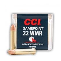CCI Gamepoint JSP 2,6g / 40gr (50kpl rasia) .22 WMR