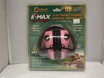 Caldwell pink E-Max low profile kuulosuojaimet