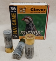 Clever Mirage High Velocity 12/70 #6/2,7mm (25kpl rasia)