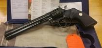 "Colt Python, cal 357 Magn., 8 "", TT=2"