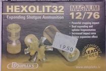 DDupleks Hexolit32 32g Slug (5kpl rasia) 12/76